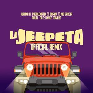 Nio Garcia Ft. Brray, Juanka, Anuel AA, Myke Towers - La Jeepeta Remix